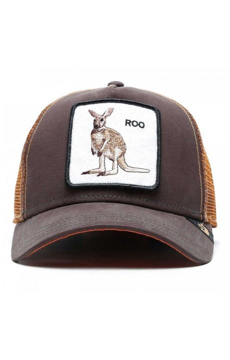 Cap, Goorin Bros Kangaroo Roo Brown