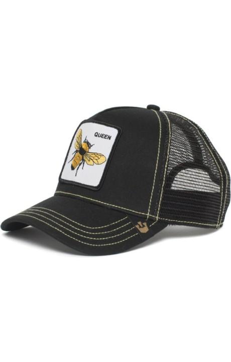 Cap, Goorin Bros Honey Bee Queen Black