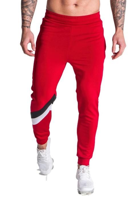 Pantalones Gianni Kavanagh Parallel Stripes Rojo
