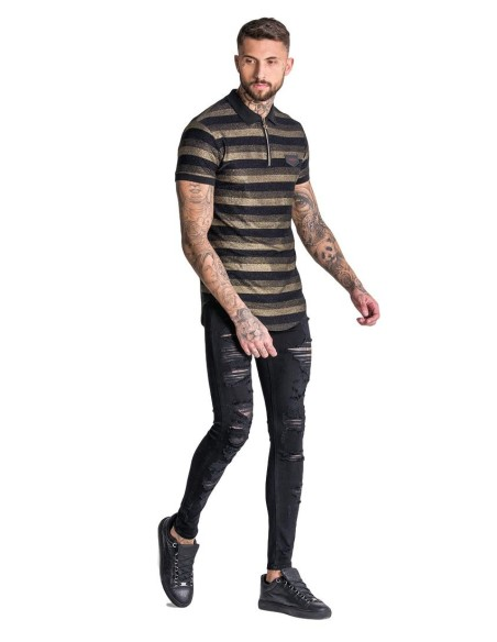 Polo Gianni Kavanagh Limited Edition 126 Negro y Oro