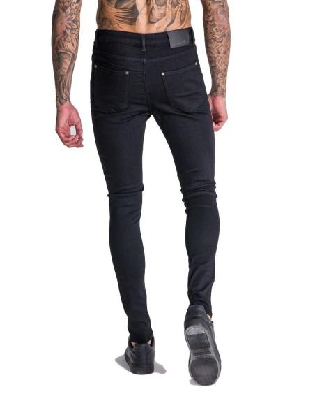 Jeans Gianni Kavanagh Black with Ribbon GK White