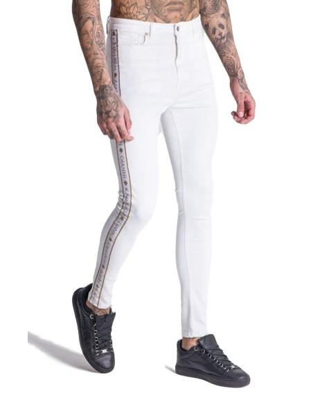 Jeans Gianni Kavanagh White with Ribbon GK White