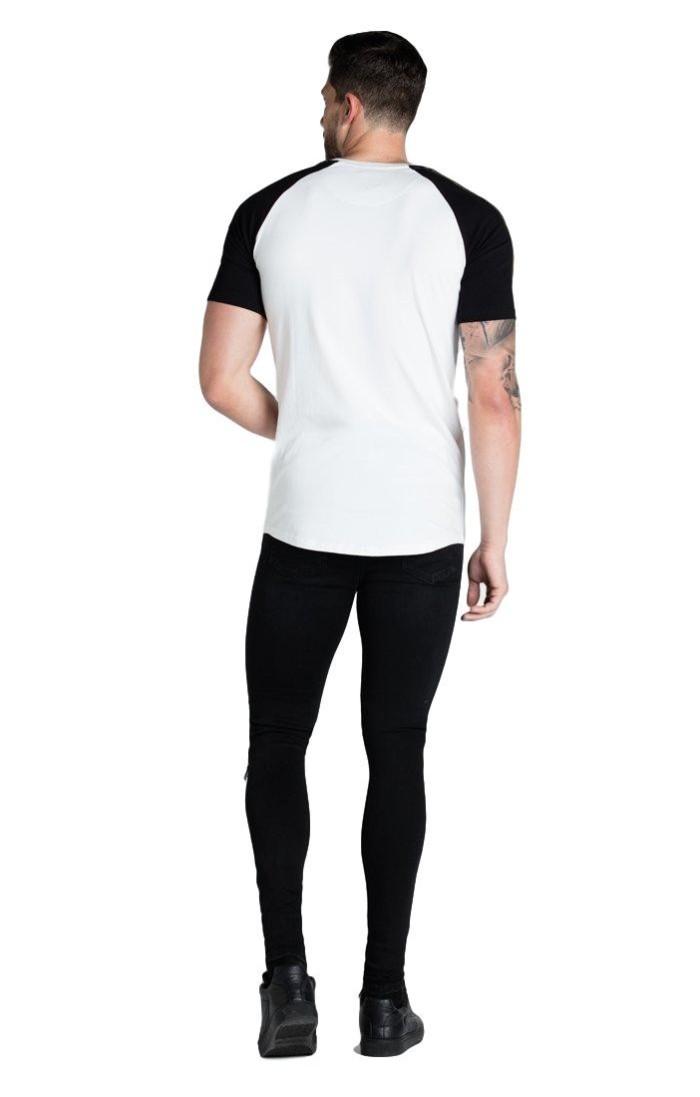 le meilleur États Unis moderne et élégant à la mode Pantalon De Survêtement SikSilk Bande De Peinture À L'Huile