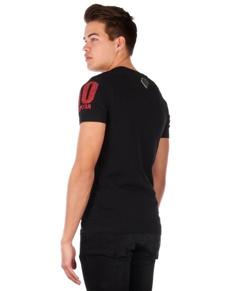 T-shirt Drich Modèle FC Noir