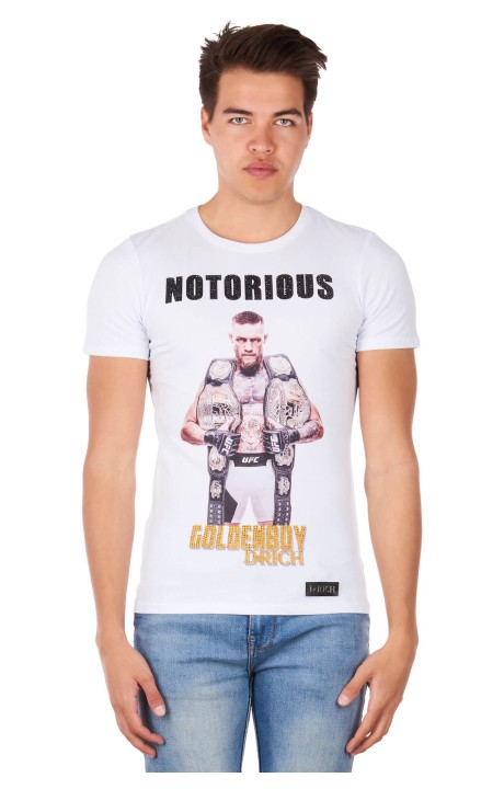 Camiseta Drich Notorious Macgregor Blanca