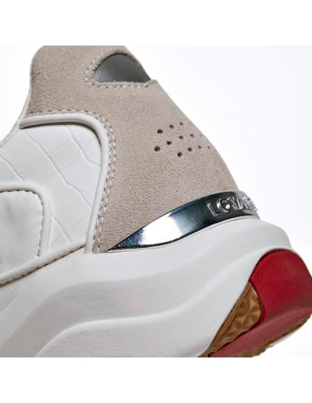 Chaussures De Course Loyalti Allégeance Croc Runner Blanc