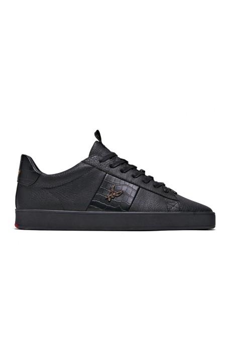 Chaussures De Course Loyalti Légitime De Reptiles Trainer Noir