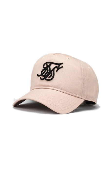 Cap SikSilk Suede Bent Peak Pink