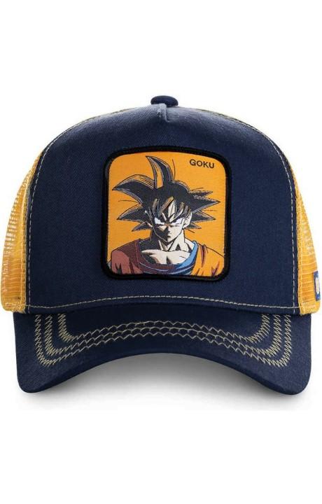 Cap Capslab Goku De Dragon Ball Marine Orange
