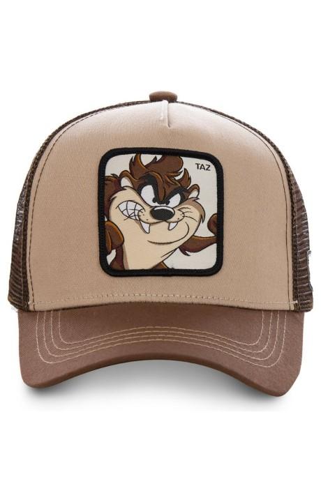 Cap Capslab Diable De Tasmanie Brun