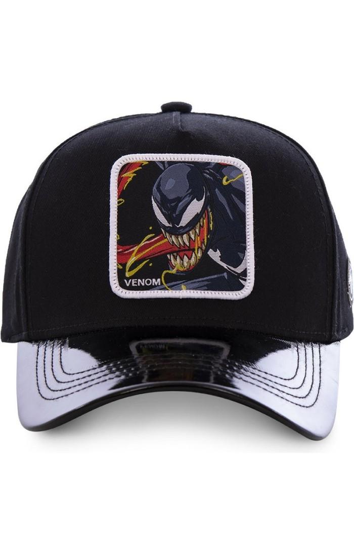 Cap Capslab Venom Marvel Black
