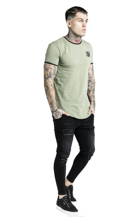 Pantalon SikSilk Reflective Sprint Antracita