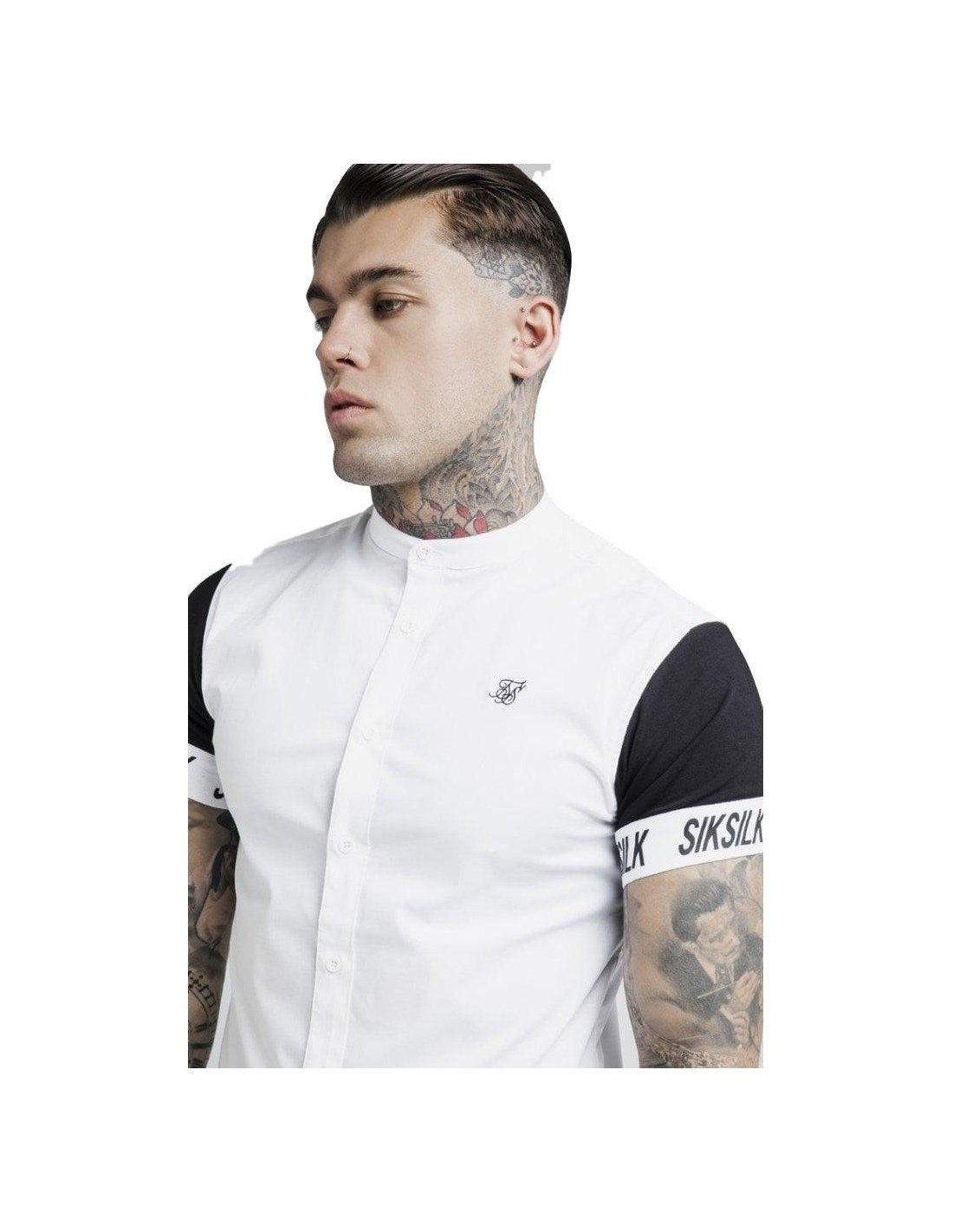 Sweat-shirt avec capuche SikSilk Racer Anthracite