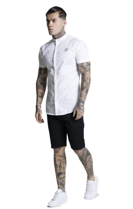 Shirt By SikSilk Raglan Reflect Tee - Black