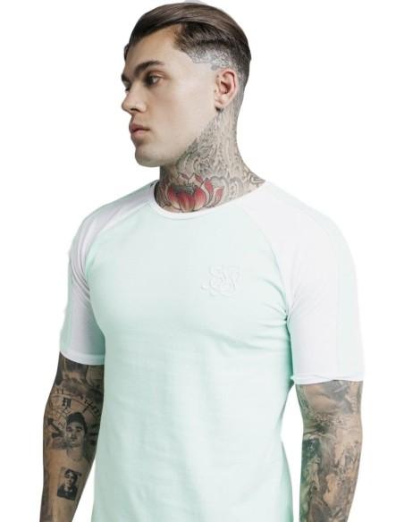 Camiseta SikSilk Cartel Gym - Blanca