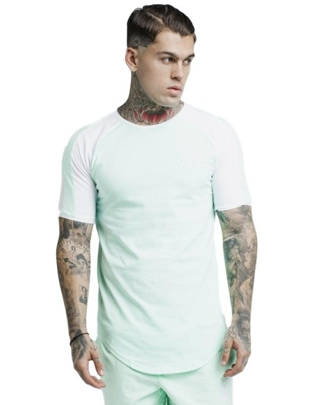 Shirt By SikSilk Poster Gym - Black