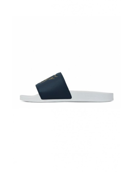 Flip flops SikSilk Rome, Bleu Marine et Blanc