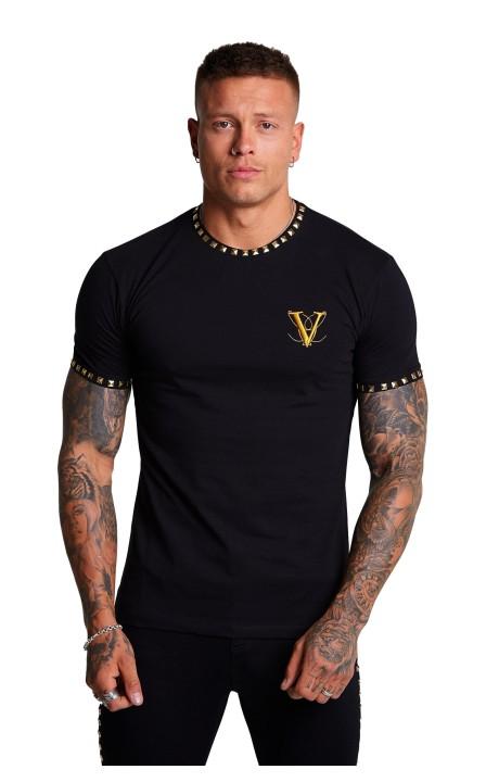 Camiseta Volé La Lumière Negra Piramide de Oro