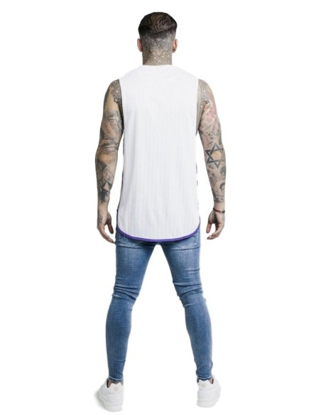 Camiseta Gianni Kavanagh Negra Con Elástico GK