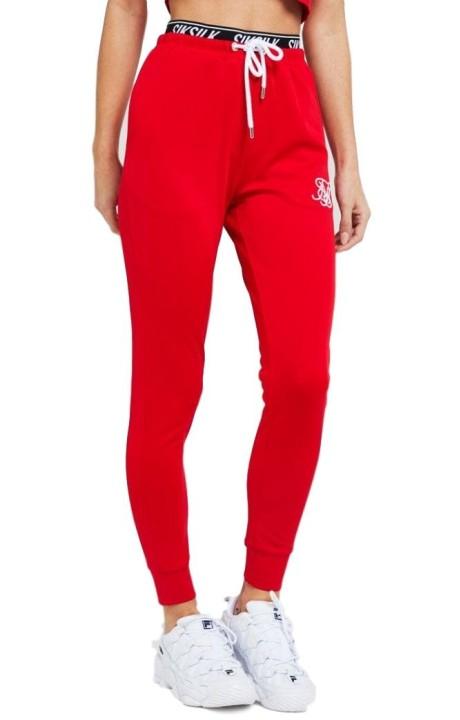 Pantalon SikSilk Elastic Poly Red