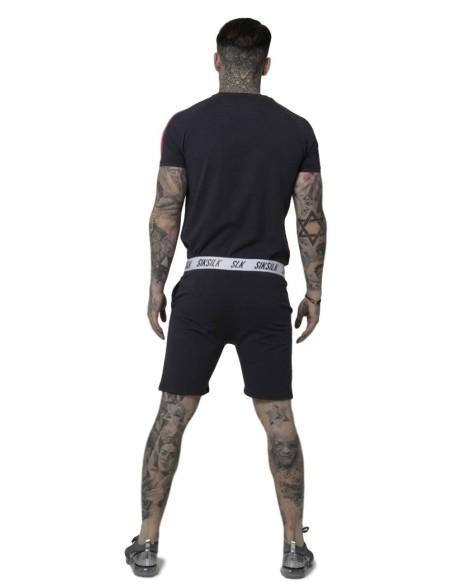 Pantalon Corto SikSilk Taped Gris