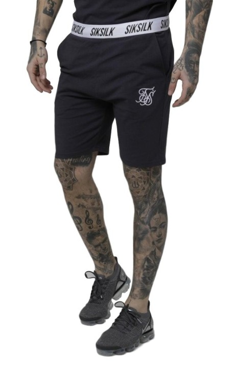 Pantalon Corto SikSilk Taped Gris