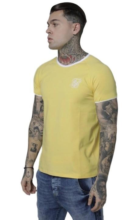 Camiseta SikSilk Elastic Cuff Amarillo