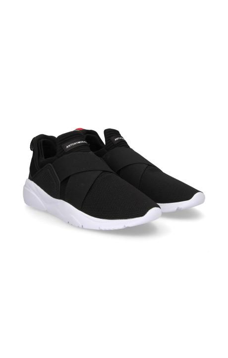 Running Shoes Antony Morato Elastic X Black Mesh