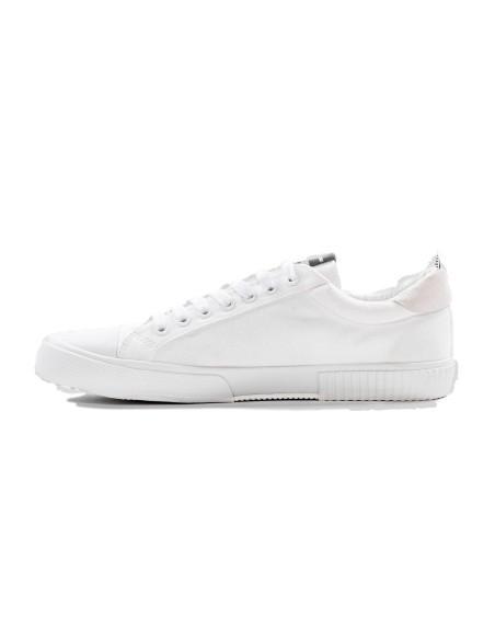 Zapatillas Antony Morato de algodón y gamuza blancas
