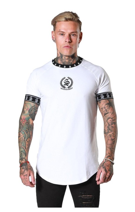 Camiseta SikSilk Panel Gym...