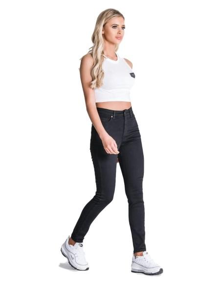 Camiseta SikSilk con dobladillo S/S Burdeos