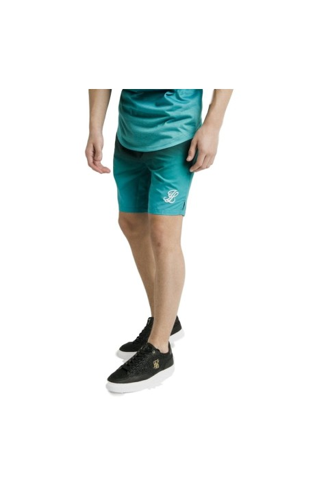 Pantalon Chandal SikSilk Con Cordón Logotipo Bordado Muslo.