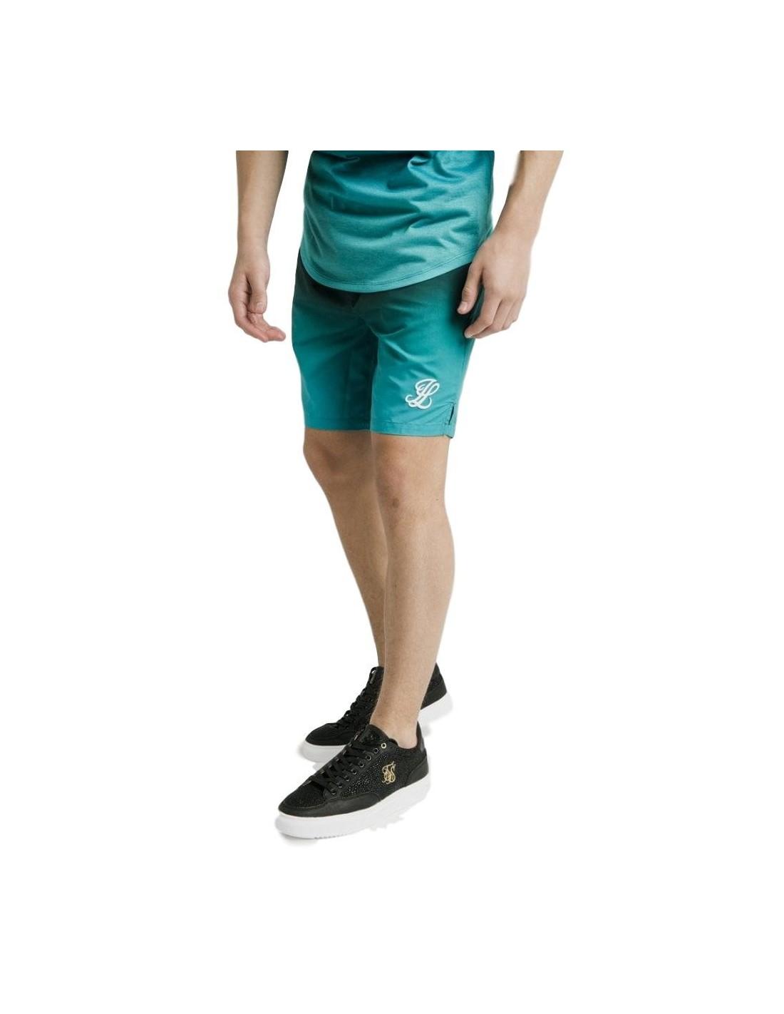 Pantalon Chandal SikSilk Con Cordón Logotipo Bordado Muslo.