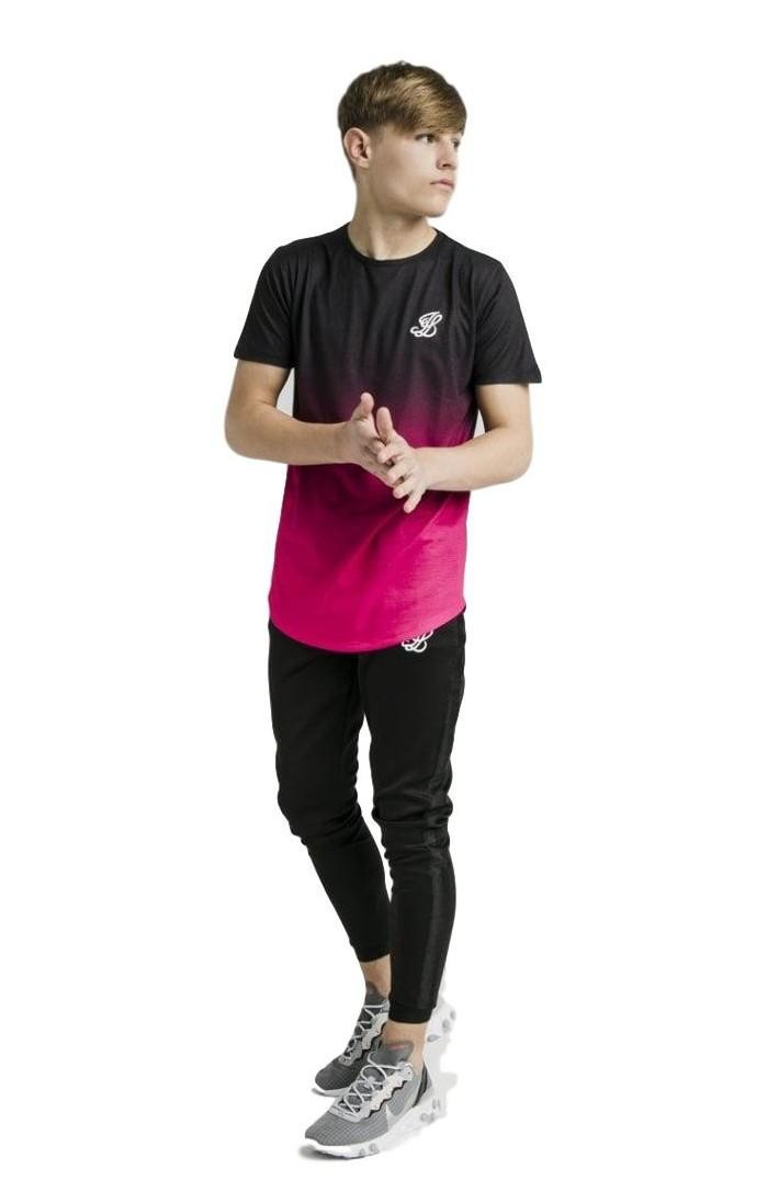 Sweat-shirt Avec Capuche SikSilk Recadrée 90 Noir