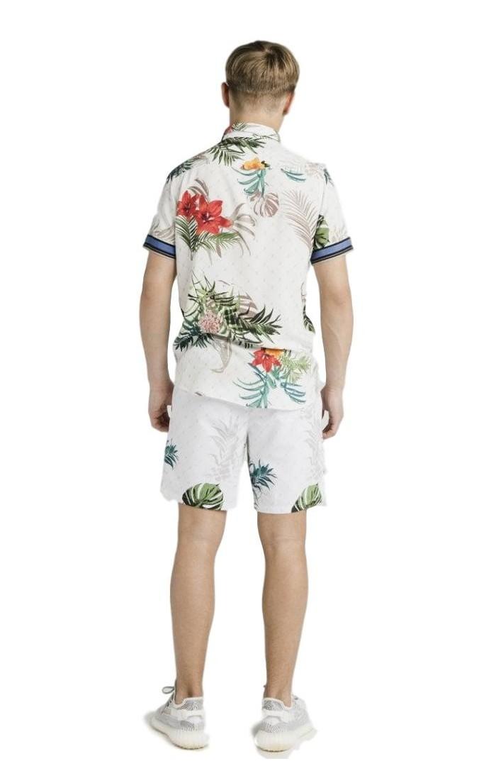 Shorts Antony Morato Rojo De Felpa