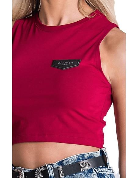 T-Shirt Gianni Kavanagh Or Avec Des Bandes Noires