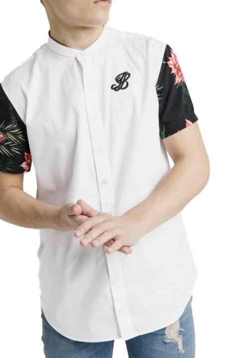 T-Shirt Gianni Kavanagh De La Bourgogne Avec Des Lignes Parallèles En Noir Et Blanc
