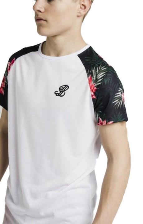 T-Shirt Gianni Kavanagh Blanc-Noir-Rouge-Blanc
