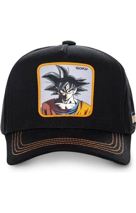 Cap Capslab Goku Dragon Ball Z Black