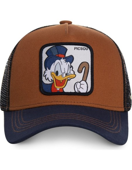 Cap Capslab Picsou Disney Marine/Marron