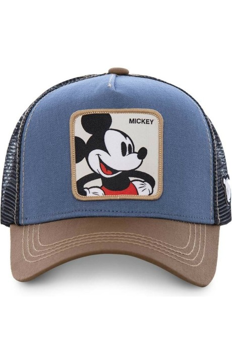 Gorra Capslab Mickey Disney Azul/Marron/Negro
