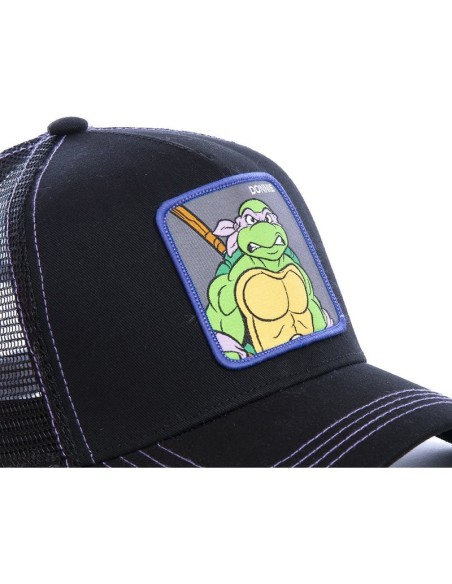 Cap Capslab Donnie Ninja Turtles Purple/Black