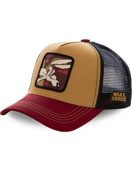 Cap Capslab Coyote Looney Tunes Black/Red/Beige
