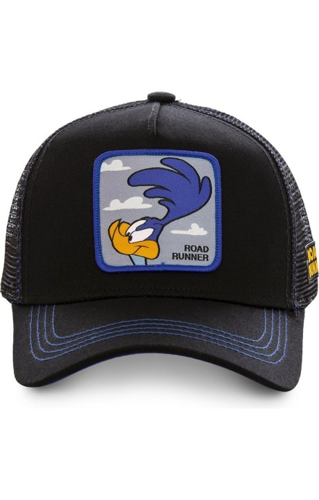 Cap Capslab Roadrunner Looney Tunes Black