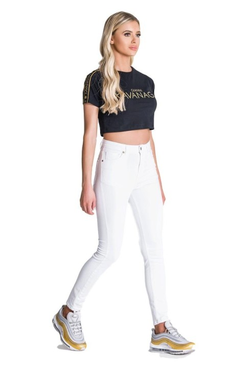 Leggings SikSilk Rose Black Panel