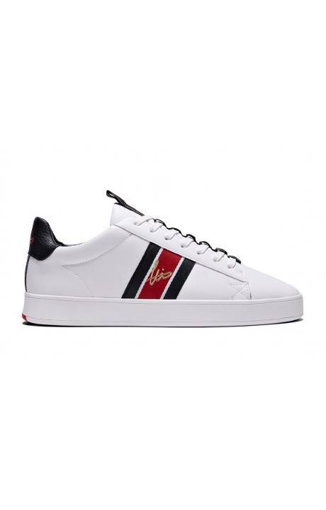 Chaussures De Course Loyalti Légitime Sangle Trainer Blanc