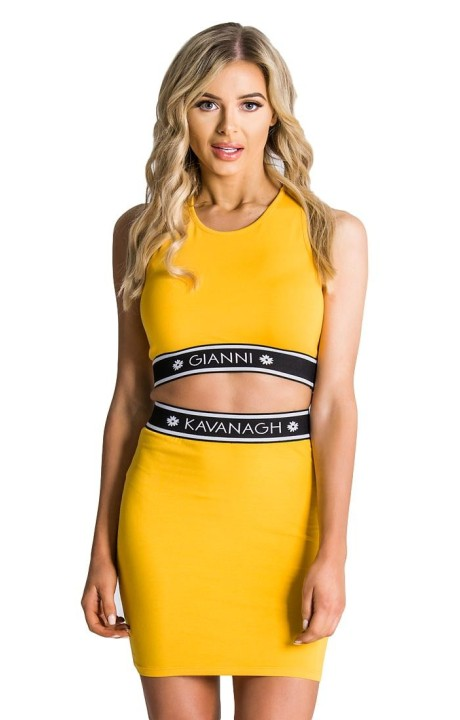 Top Gianni Kavanagh yellow...