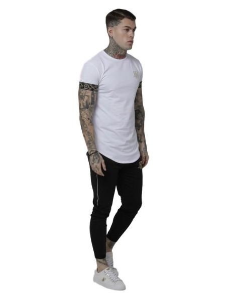 Pantalon de Survêtement Roone Romaine, Blanc de bande-RR