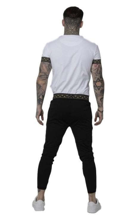 Camiseta Roone Roman Blanca Tropical