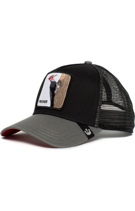 Cap, Goorin Bros Woodpecker Black and Grey